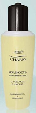 Витэкс   Charm   Жидкость для снятия лака с маслом лимона, 70 мл