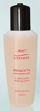 Витэкс   Charm   Жидкость для снятия лака с маслом апельсина, 70 мл