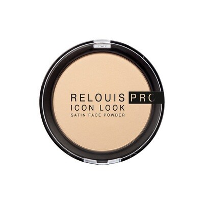RELOUIS PRO ICON LOOK SATIN FACE POWDER ПУДРА КОМПАКТНАЯ