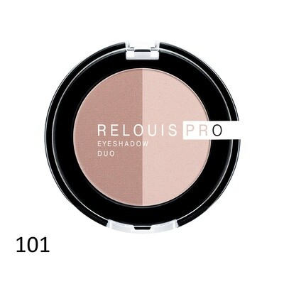 RELOUIS PRO EYESHADOW DUO 18 colors | ТЕНИ ДЛЯ ВЕК