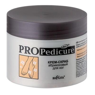 PRO PEDICURE | КРЕМ-СКРАБ абрикосовый для ног, 300 мл