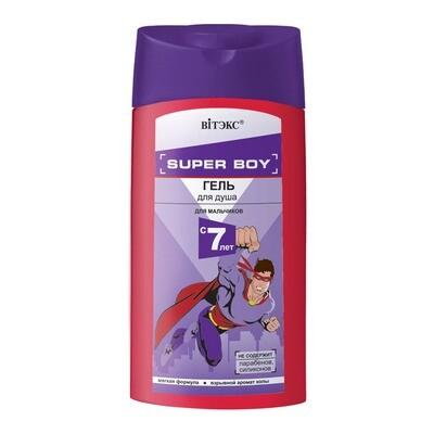Витэкс | SUPER BOY |  ГЕЛЬ для душа для мальчиков 7 лет, 275 мл