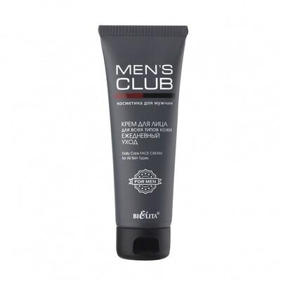 Белита | MENS CLUB | КРЕМ для ЛИЦА для всех типов кожи Ежедневный уход, 75 мл