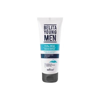 Белита | BELITA YOUNG MEN |  ГЕЛЬ-УХОД после бритья, 75 мл