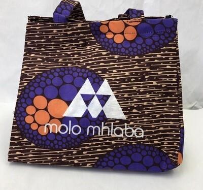 Purple and orange handbag