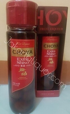 Choya Extra Shiso Umeshu 700ML