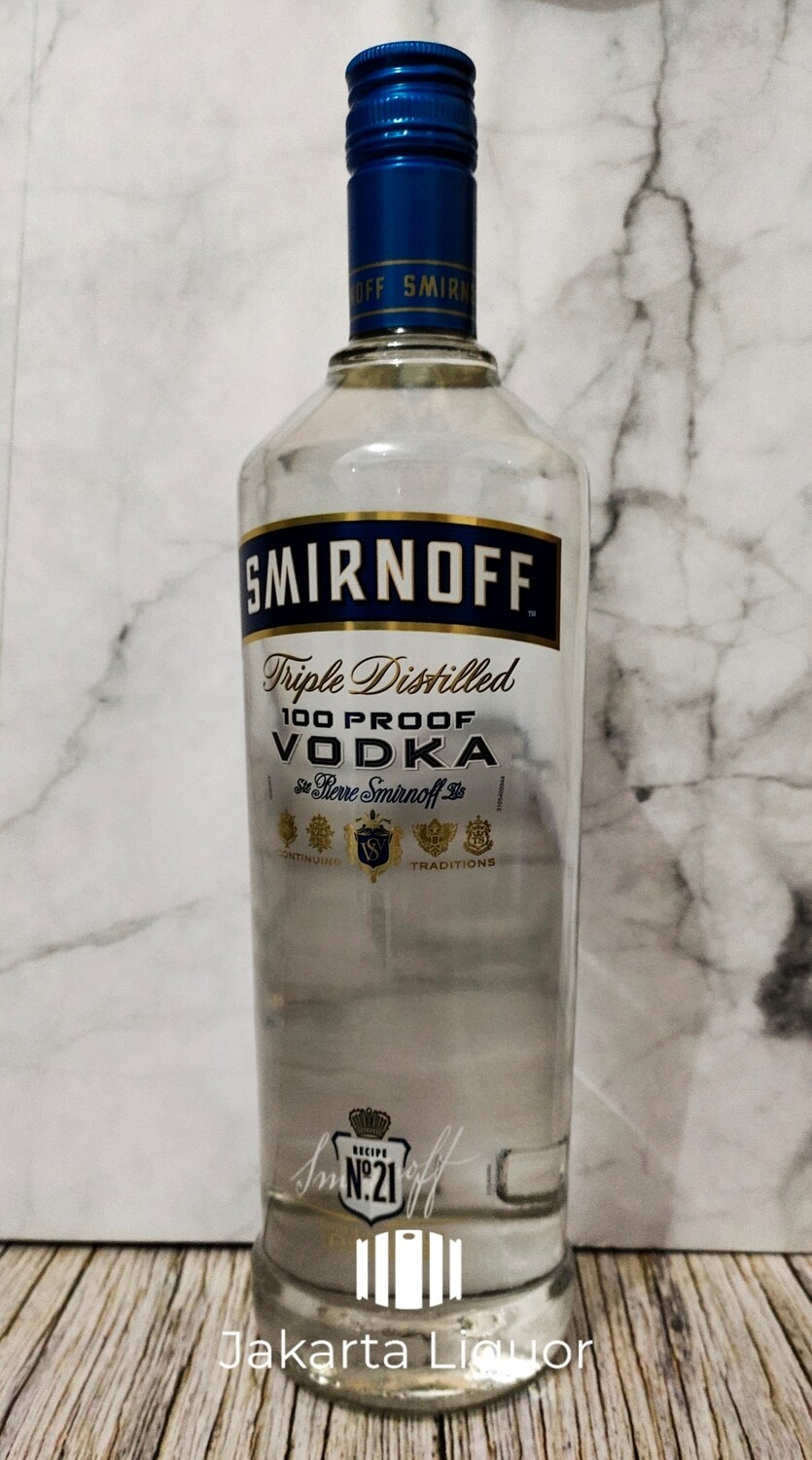 Smirnoff Blue Vodka 1L (50 %)