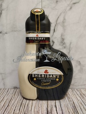 Sheridan Coffee and Cream Liqueur 1L