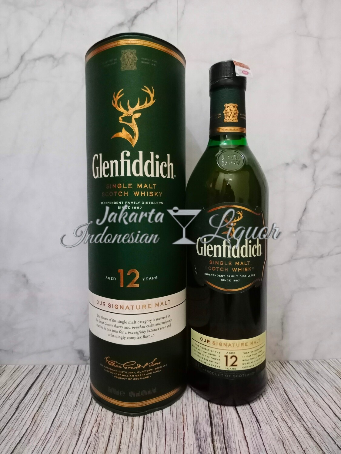 Glenfiddich 12YO 750ML