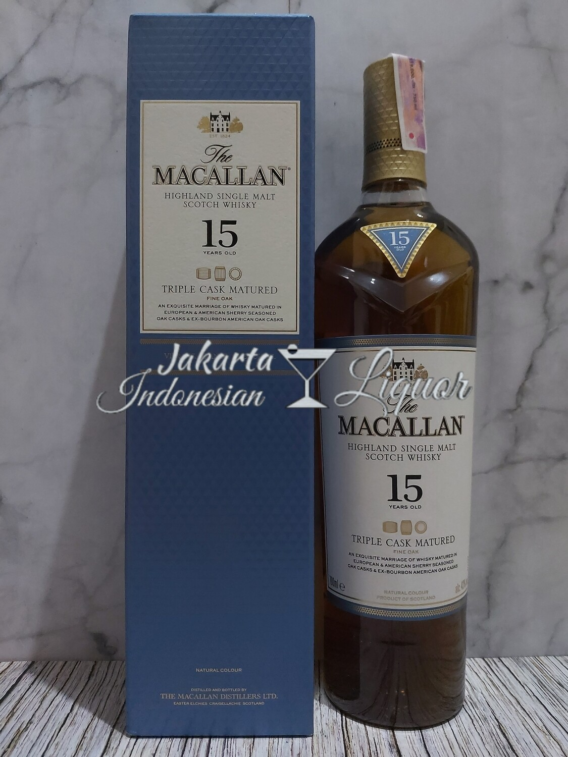 Macallan 15YO Fine Oak 750ML