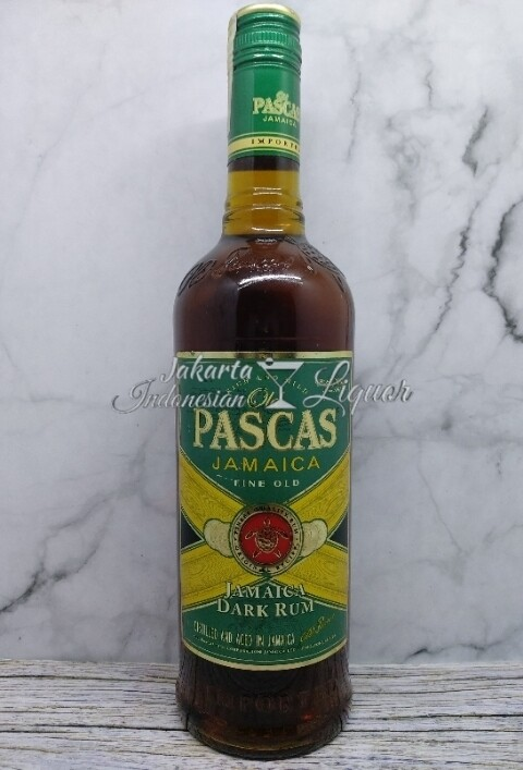 Old Pascas - Jamaica Dark Rum 700ML