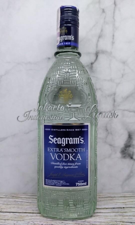 Seagram Vodka 750ML