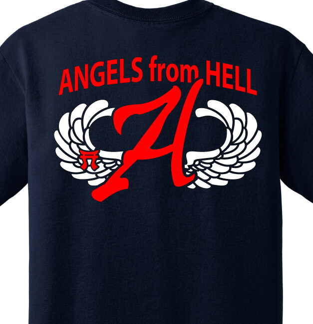"""3-187th A CO """"Angels From Hell"""" Shirt"""