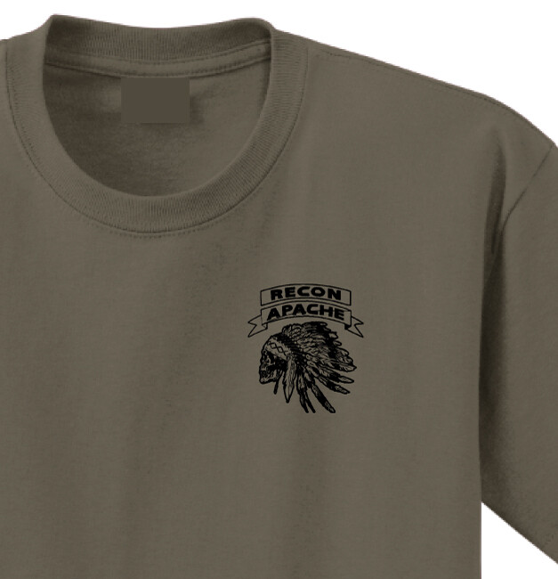 "1-32 CAV A TRP 3PLT ""Reapers"" Shirt"