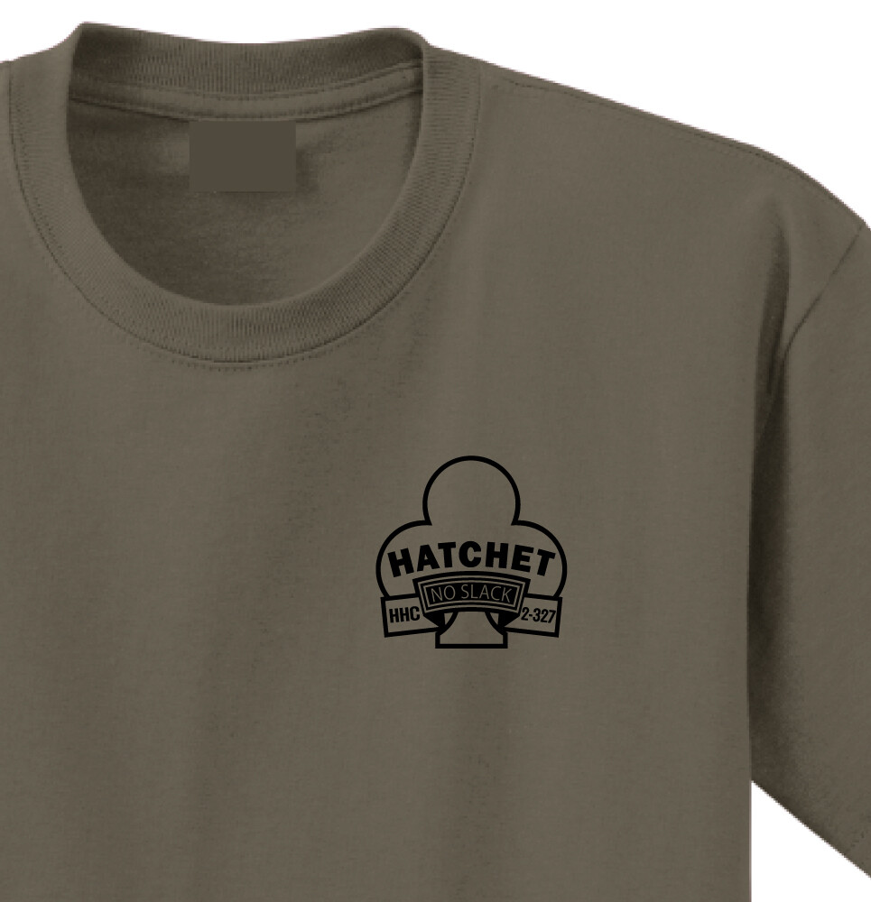 "2-327th HHC ""Hatchet"" Shirt"