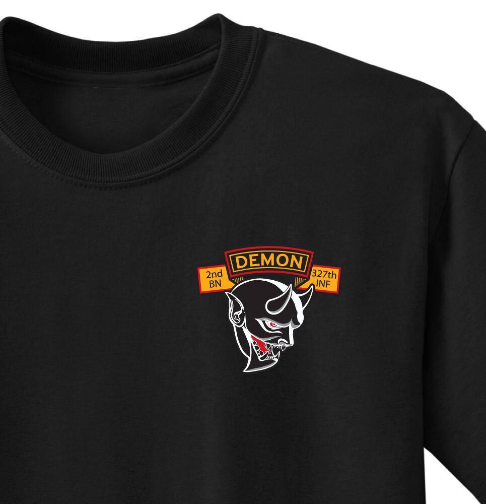 "2-327th D CO ""Demons"" Shirt"