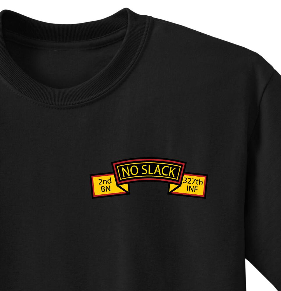 """2-327th """"No Slack"""" Legacy Battalion Shirt"""