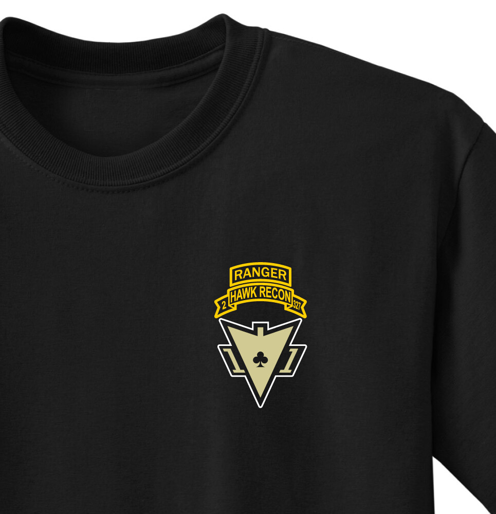 2-327th Hawk Recon Shirt