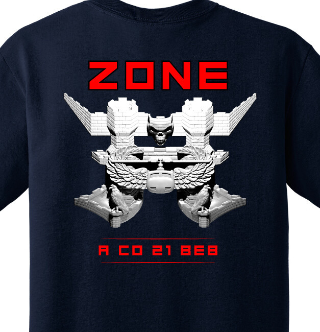 "21 BEB A CO ""Zone"" Shirt"