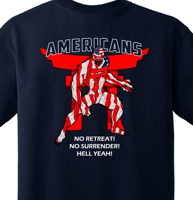 "626 BSB A CO ""Americans"" Shirt"