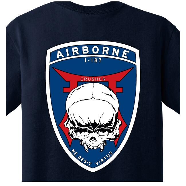 """1-187th C CO """"Crusher"""" Shirt"""