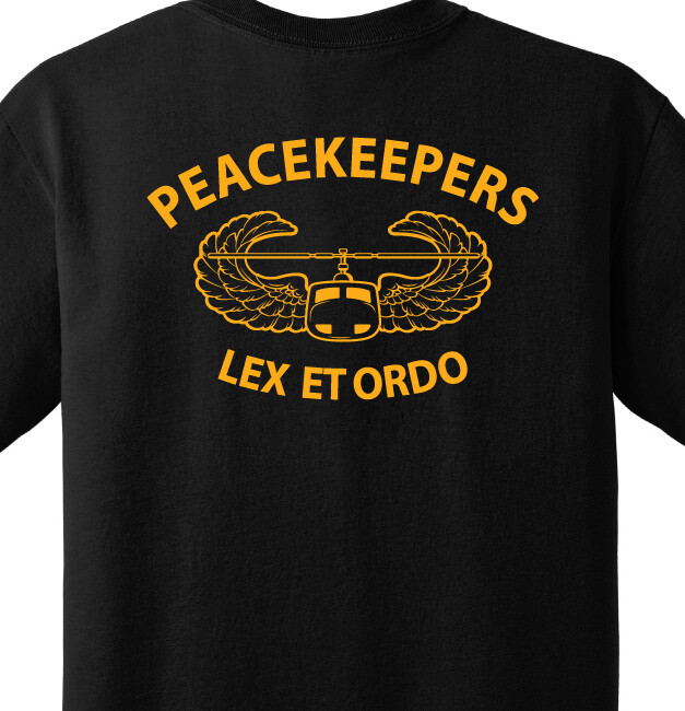 """716 MP """"Peacemakers"""" Battalion Shirt"""