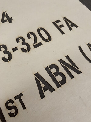 Stencils: Custom Lettering/Numbering