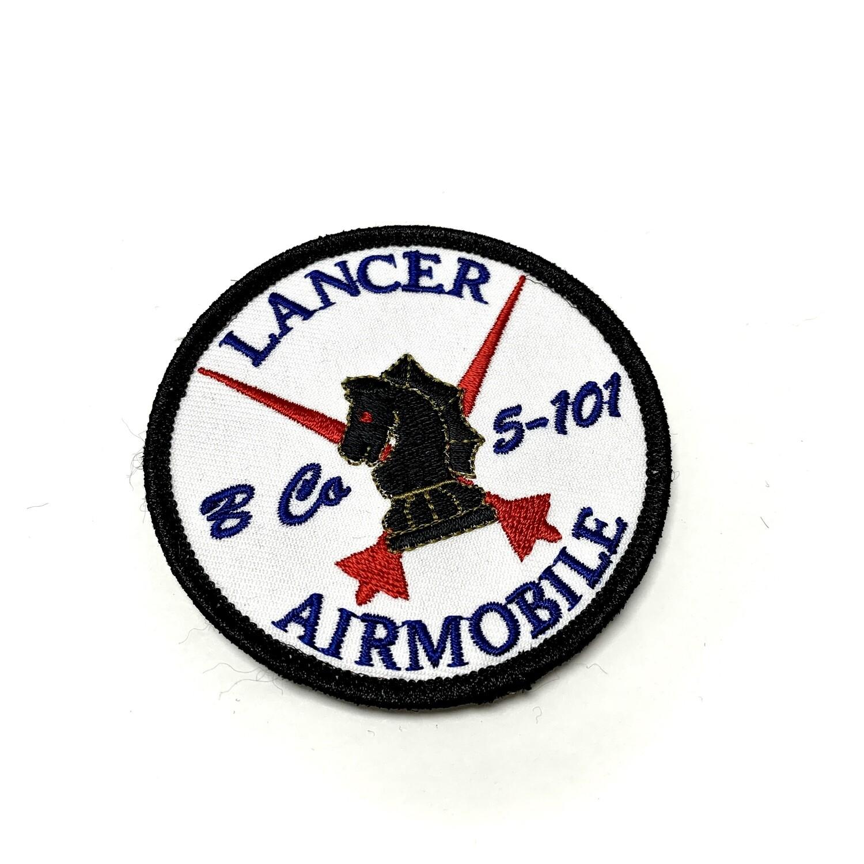 "B Co 5-101 ""Lancer"" Patch"