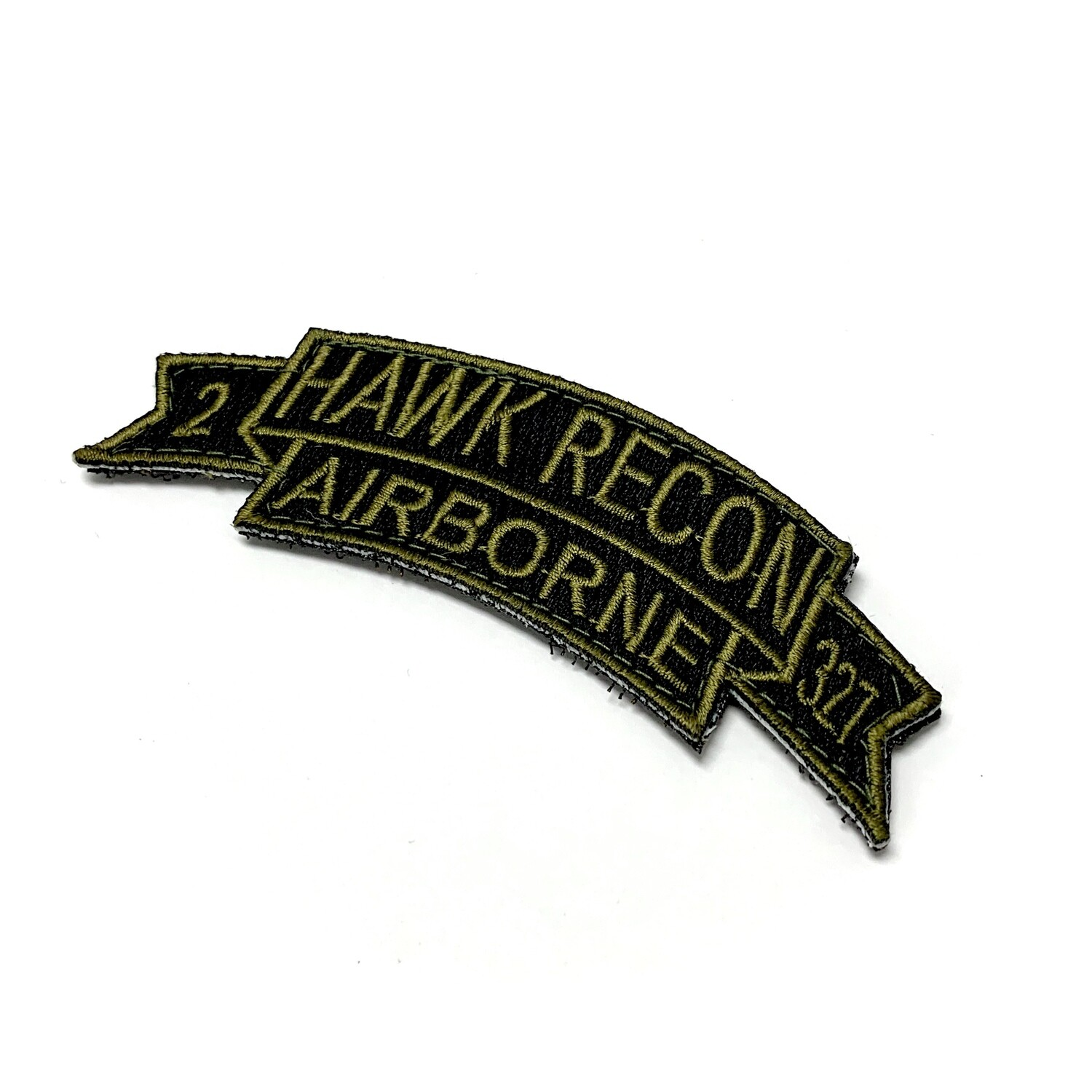 Hawk Recon 2-327th INF Patch