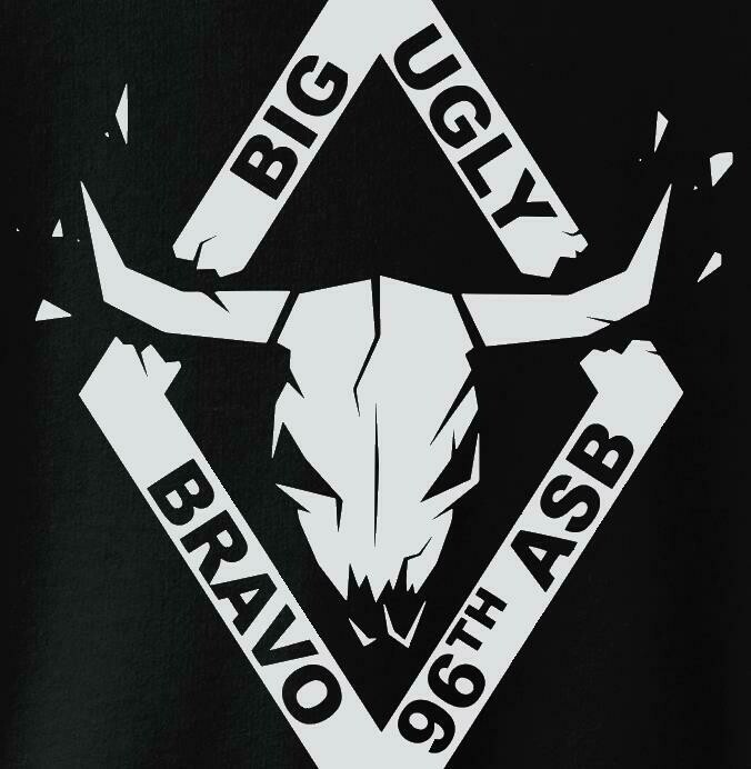 "B Co ""Big Ugly"" 96th ASB Company Shirts"