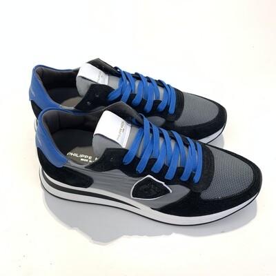Sneaker Running Grigio Nero PHILIPPE MODEL