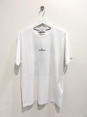 """Tshirt m-m cotone stampa """"DRONE """" fronte e retro col. Bianco"""