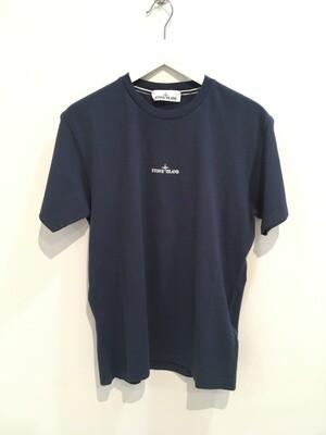 """Tshirt m-m cotone stampa """"DRONE """" fronte e retro col. Blu Marine"""