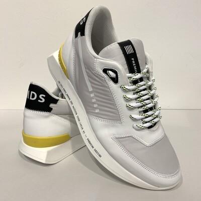 Sneaker Running bimateriale, laccio trekking PMDS Col. Bianco