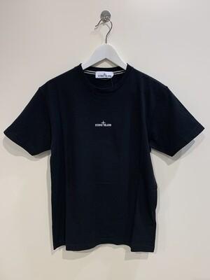 """Tshirt m-m cotone stampa """"DRONE"""" fronte e retro col. Nero"""