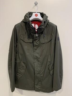 Field Jacket cotone dry strech, anti drop, People Of Shibuya Col. Verde Militare