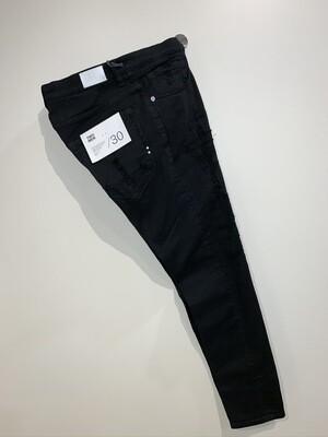 Jeans cotone strech rotture cucite slim fit TWO MEN Col. Nero