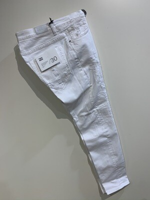 Jeans cotone strech rotture cucite slim fit TWO MEN Col. Bianco