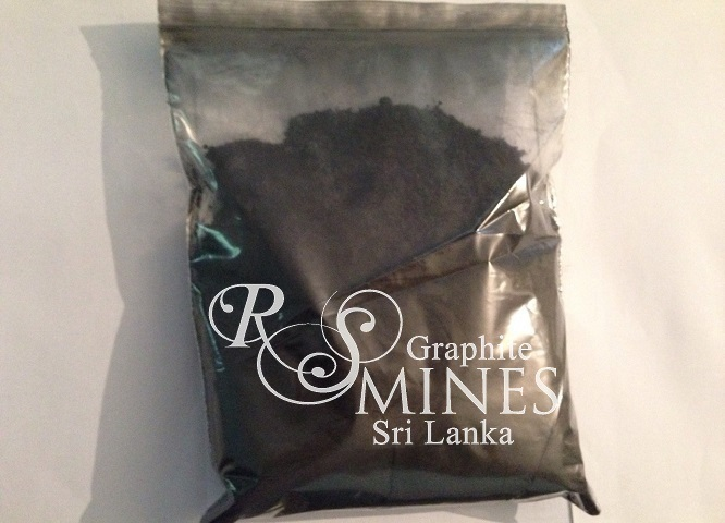RS007, 99%+ Carbon, Natural Crystalline Vein Graphite, 7 micron aps, 25Kg