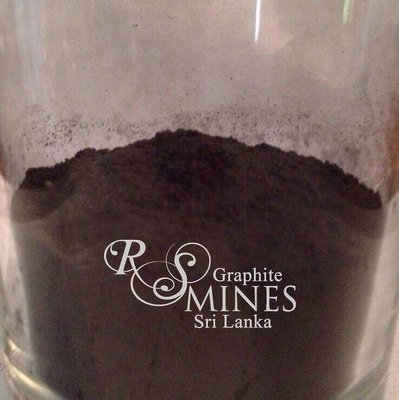 RS007, 99%+ Carbon, Natural Crystalline Vein Graphite, 7 micron aps, 6Kg