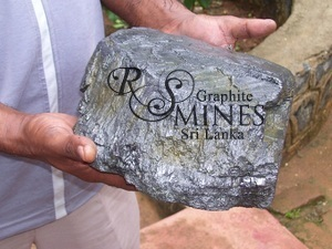 Natural Crystalline Vein Graphite 99%+, chip&lump, 50 grams, Research Sample