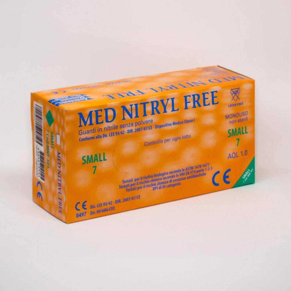 Guanti in nitrile - Scatola da 100 pezzi - Misura M