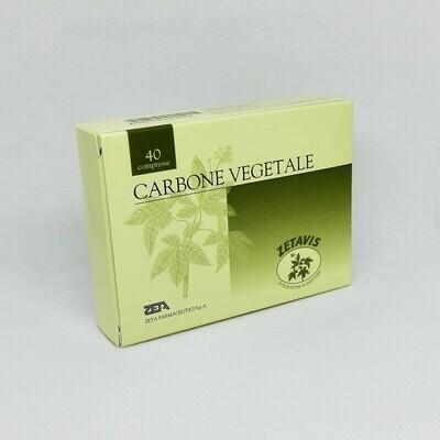 CARBONE VEGETALE - CONFEZIONE 40 COMPRESSE