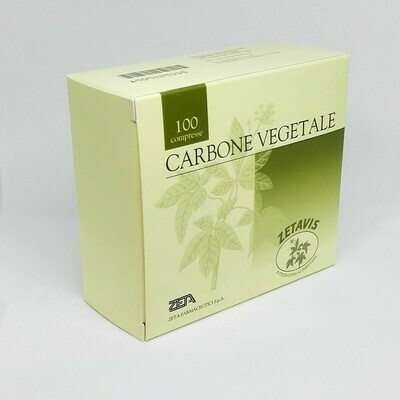 CARBONE VEGETALE - 100 COMPRESSE