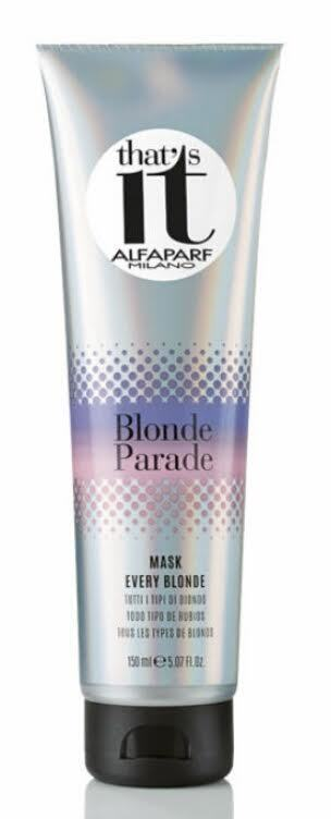ALFAPARF THAT'S IT BLONDE PARADE MASK 150ml