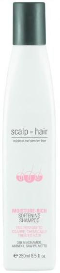 NAK HAIR SCALP TO HAIR MOISTURE-RICH SOFTENING SHAMPOO 250ml