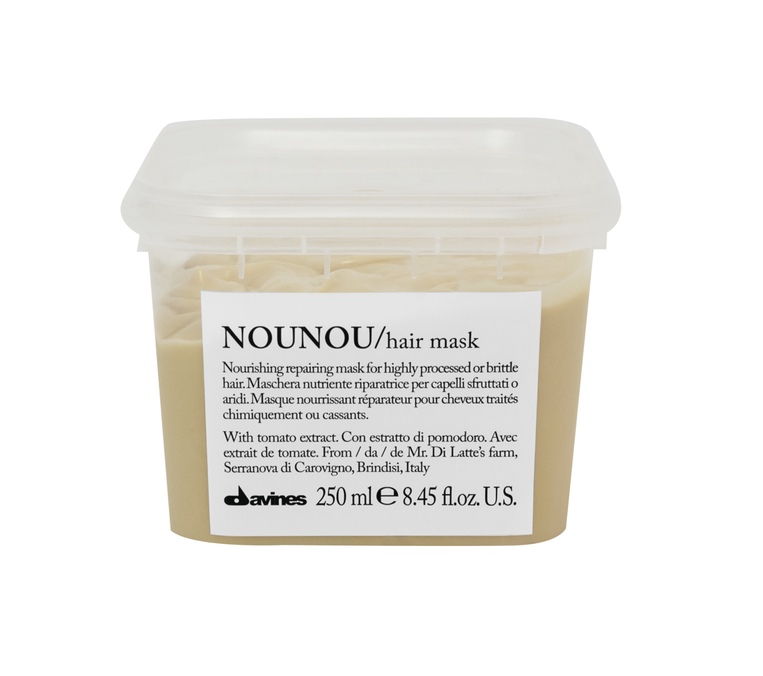 DAVINES NOU NOU HAIR MASK 250ml