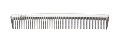 IBIZA HAIR SILVER STYLING COMB
