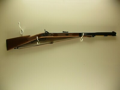 41 SILE Inc mod. Hawkin 50 cal black powder rifle octagon bbl w/sling fired very little ser # 87216