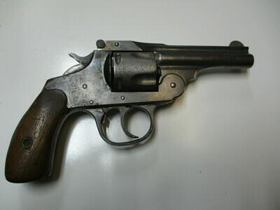 54 Iver Johnson mod. Break Over 38 cal revolver ser # 48702
